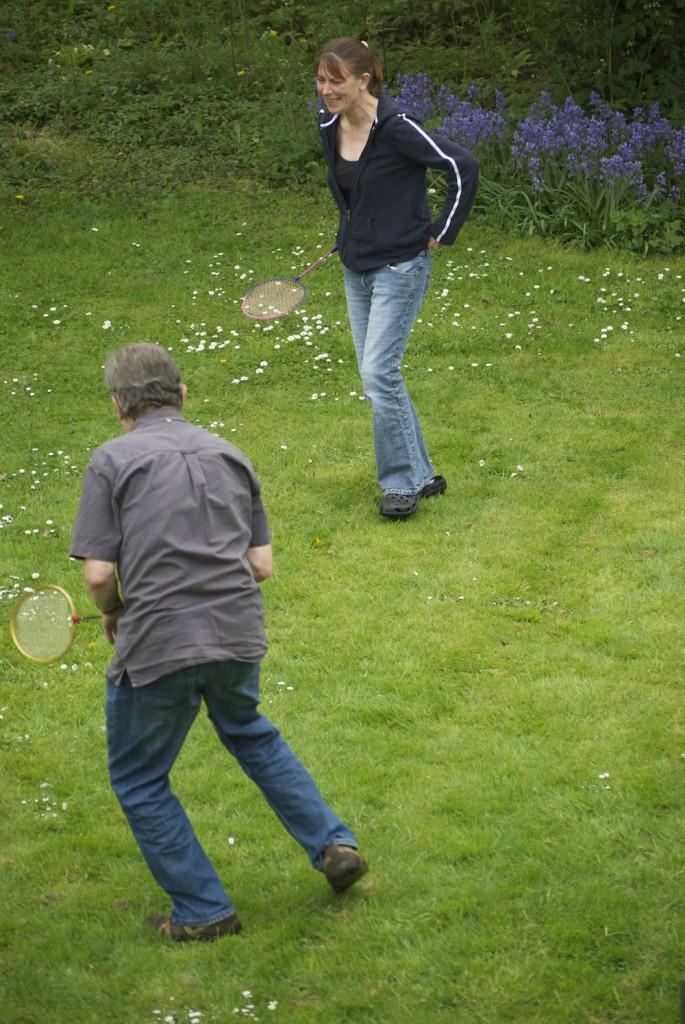Badminton care home garden
